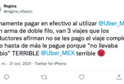 conductores uber efectivo