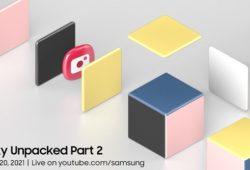 Evento Samsung Unpacked Galaxy parte 2 2021