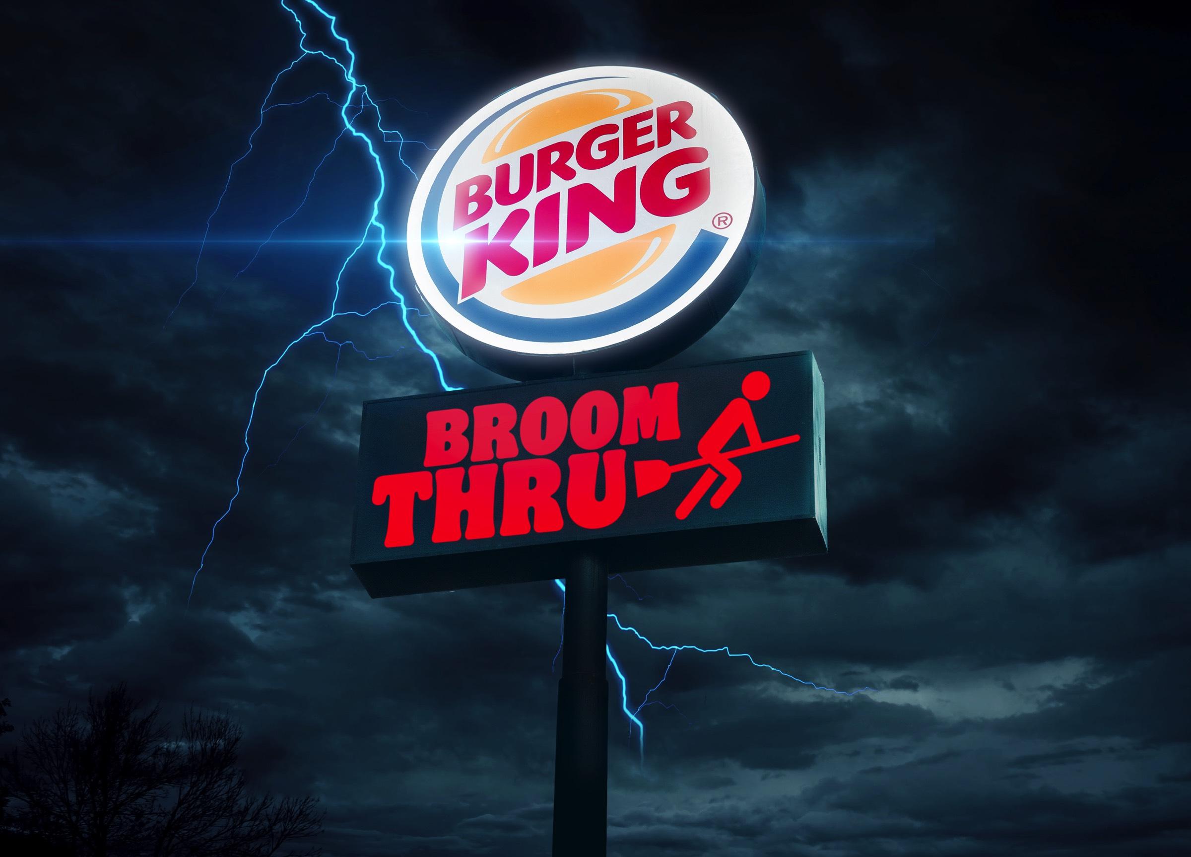 halloween burger king